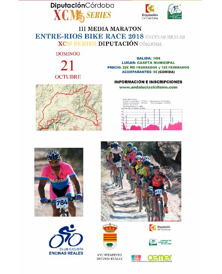 Vuelve el MTB con la III Media Maratón Entre-Ríos Bike Race2018